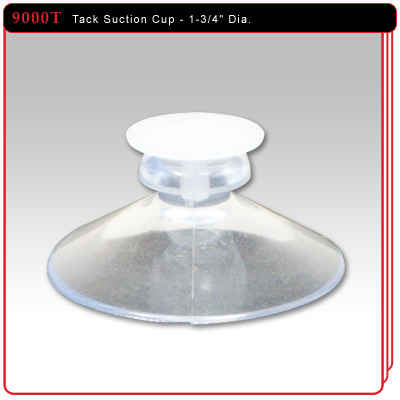"1-3/4"" Suction Cup w/Tack"