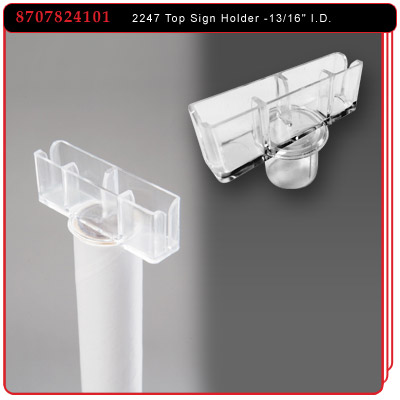 2247 Pole Top Sign Holder