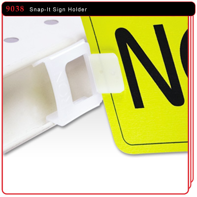Snap It Sign Holder