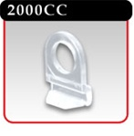 Snap-Lock Banner Hanger Clip - Clear -#2000CC