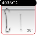 "Double C-Hook - 36"" Length -#4036C2"