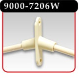 2-Dowel Angled Ceiling Mobile with Mini-Twist On -#9000-7206W