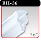"Clamping Banner Hanger - 36"" Clear -#BH-36"