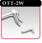 Over The Top Hook - White Plastic -#OTT-2W