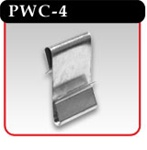 "Power Wing Clip - Steel, 1""w x 1-3/4""h"