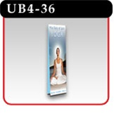 Double Sided - Ultra UB Banner Display Stand - 36""