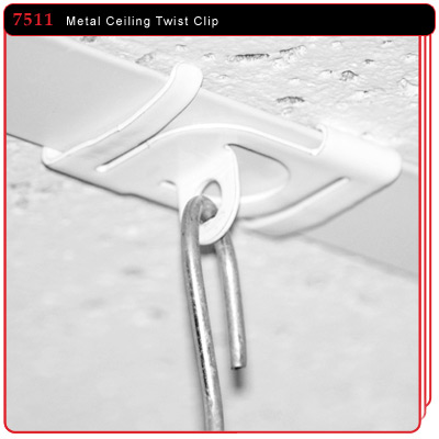 Metal Twist Ceiling Clip