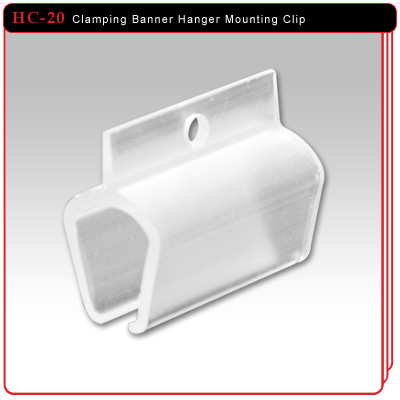 Clamping Banner Hanger Mounting Clip