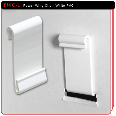 Power Wing Clip - White PVC