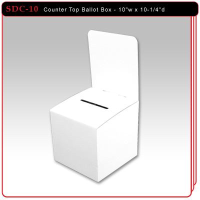 Counter Top Ballot Box