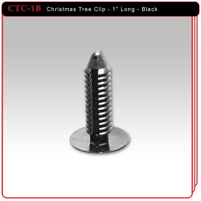"Christmas Tree Clip - 1"" Length"