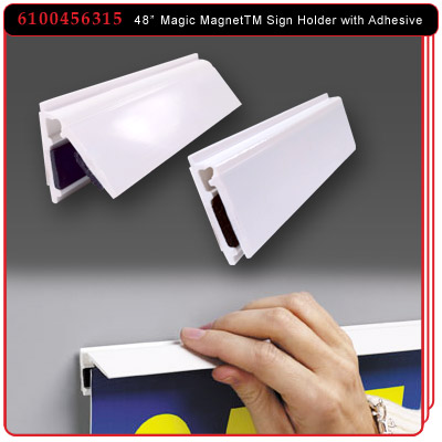 48 inch Magic Magnet™ Sign Holder