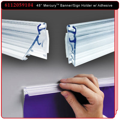 48 inch Mercury™ Banner and Sign Holder