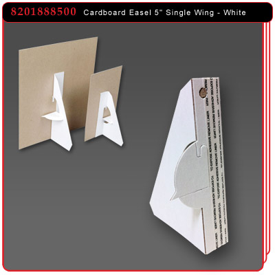 Cardboard Easel - Single Wing