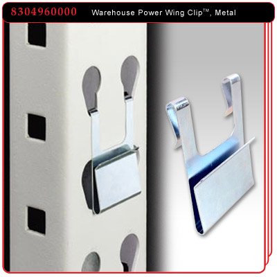 Warehouse Power Wing Clip™  Metal
