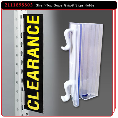 Warehouse Upright SuperGrip® Sign Holder