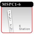 Plastic Merchandising Strip - MSPC1-6