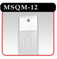 Plastic Merchandising Strip - MSQM-12