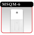 Plastic Merchandising Strip - MSQM-6