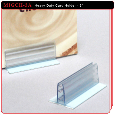 Heavy Duty Card Holder - 3""