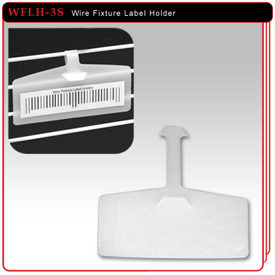 Single Strap Wire Fixture Label Holder