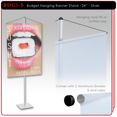 Budget Hanging Banner Stand