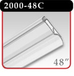 "Snap-Lock Banner Hanger 48"" - Clear -#2000-48C"