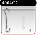 "Double C-Hook - 4"" Length -#4004C2"