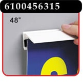 48 inch Magic Magnet™ Sign Holder with Adhesive