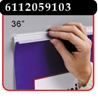 36 inch Mercury™ Banner/Sign Holder with Adhesive
