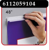48 inch Mercury™ Banner/Sign Holder with Adhesive