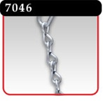 Metal Chain - 6' Length, 16 Ga. Galvanized Steel -#7046