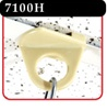 Twist-On Series heavy duty ceiling mount - Ivory -#7100H