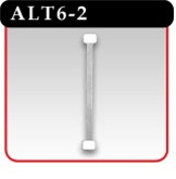 "Aluminum Twist Sign Holders - 6""L w/ 2 Adhesive Pads"