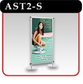 "Apollo Snapgraphics Display Stand - 24"" - Silver"