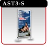 "Apollo Snapgraphics Display Stand - 36"" - Silver"