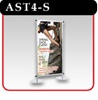 "Apollo Snapgraphics Display Stand - 48"" - Silver"