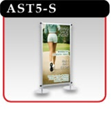 "Apollo Snapgraphics Display Stand - 60"" - Silver"