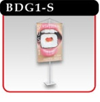 Budget Hanging Banner Stand - Silver -#BDG1-S