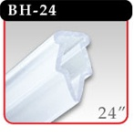 "Clamping Banner Hanger - 24"" Clear -#BH-24"