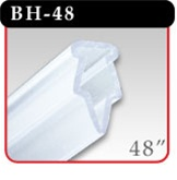 "Clamping Banner Hanger - 48"" Clear -#BH-48"