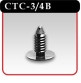 Christmas Tree Clip In Black Plastic -#CTC-3/4B