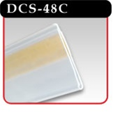 "Data Channels in Clear Plastic - 48""w -#DCW-48C"