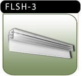 Flush Sign Holder - 3 inch