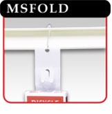 Accordion Style Merchandising Strip-#MSFOLD