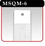 "6 Station Merchandising Strip - 12-3/8""L-#MSQM-6"