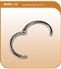 "Metal Snap Ring - 3/4""-#MSR-.75w"