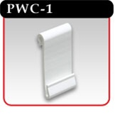 Power Wing Clip - White PVC -#PWC-1