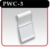Power Wing Clip - White PVC -# PWC-3