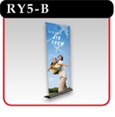 "Mercury Retractable Banner Stand - 48"" -#RY5-B"